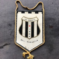 Flag (Pennant / Banderín) ZA000366 - Football (Soccer / Calcio) Croatia Sparta Beli Manastir - Apparel, Souvenirs & Other