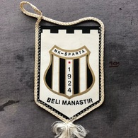 Flag (Pennant / Banderín) ZA000367 - Football (Soccer / Calcio) Croatia Sparta Beli Manastir - Habillement, Souvenirs & Autres