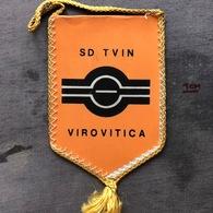 Flag (Pennant / Banderín) ZA000375 - Football (Soccer / Calcio) Croatia Tvin Virovitica - Apparel, Souvenirs & Other