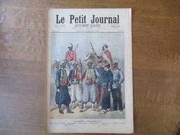 LE PETIT JOURNAL 7 MARS 1891 L'ARMEE COLONIALE,UNE SURPRISE TABLEAU DE LOBRICHON - Zeitungen