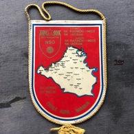 Flag (Pennant / Banderín) ZA000380 - Football (Soccer / Calcio) Croatia NSO Beli Manastir - Apparel, Souvenirs & Other