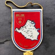 Flag (Pennant / Banderín) ZA000381 - Football (Soccer / Calcio) Croatia NSO Beli Manastir - Apparel, Souvenirs & Other