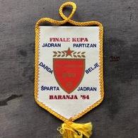 Flag (Pennant / Banderín) ZA000385 - Football (Soccer / Calcio) Croatia NSO Beli Manastir - Apparel, Souvenirs & Other