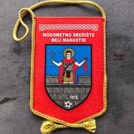 Flag (Pennant / Banderín) ZA000389 - Football (Soccer / Calcio) Croatia NSO Beli Manastir - Apparel, Souvenirs & Other