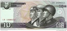 NORTH KOREA 10 WON 2002 (2009) P-59 UNC [KP340a ] - Corée Du Nord