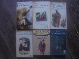 Petit Lot - 6 Livres De Honoré De BALZAC - Lots De Plusieurs Livres