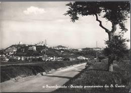 Sassoferrato - Scorcio Panoramico Da Santa Lucia - Ancona - H4712 - Ancona