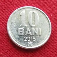 Moldova 10 Bani 2015 Moldavia Moldavie - Moldova