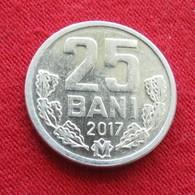 Moldova 25 Bani 2017 Moldavia Moldavie - Moldavie