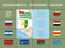 Abkhazia (Georgia) 2018, Independence, Block - Georgië