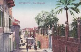 CPA / Beyrouth (liban)  Rue Echrefié    >Ed   Sarrafian  Colorisée - Líbano