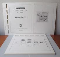 NORVEGIA Norge Norway 1945/1979 Fogli Marca SCHAUBEK (nuovi) - Album & Raccoglitori