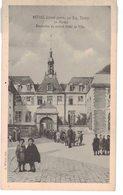 08 Rethel D' Avant Guerre Illustration Eugene Thiery Le Marché Décoration Du Nouvel Hotel De Ville - Rethel