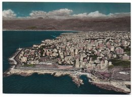 LIBAN/LEBANON - BEYROUTH/BEIRUT- VUE GENERALE (PHOTO SPORT N.1357) / THEMATIC STAMP-RAISIN / NABATIE' CANCEL 1962 - Libano