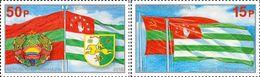 Abkhazia (Georgia) 2018, Treaty With Transnistria, 2v - Georgië