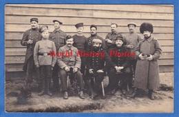 CPA Photo - Camp De GÜSTROW In Mecklenburg Vorpommern - Kriegsgefangenenlager - Soldat Russe Poilu Français WW1 Russian - Weltkrieg 1914-18
