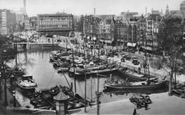 Rotterdam  Nederland Blaak  Binnenhaven  Fotokaart  Binnenschip Schip Boot   X 4104 - Rotterdam