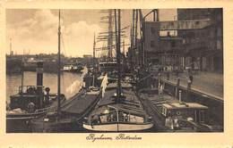 Rotterdam  Nederland Rijnhoven   Binnenhaven  Fotokaart  Binnenschip Schip Boot   X 4105 - Rotterdam