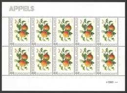Nederland Postfris/MNH, Janneke Brinkman: Bloemen, Flowers, Fleures. Appels - Nederland