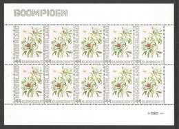 Nederland Postfris/MNH, Janneke Brinkman: Bloemen, Flowers, Fleures. Boompioen - Nederland