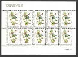 Nederland Postfris/MNH, Janneke Brinkman: Bloemen, Flowers, Fleures. Druiven - Nederland