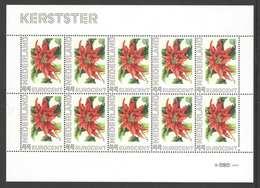 Nederland Postfris/MNH, Janneke Brinkman: Bloemen, Flowers, Fleures. Kerstster - Nederland