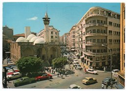 LIBAN/LEBANON - BEYROUTH/BEIRUT- EMIR MANSOUR MOSQUE (PHOTO SPORT N.655) / OLD CARS - Libano