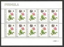 Nederland Postfris/MNH, Janneke Brinkman: Bloemen, Flowers, Fleures. Primula - Nederland