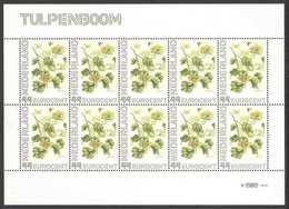 Nederland Postfris/MNH, Janneke Brinkman: Bloemen, Flowers, Fleures. Tulpenboom - Nederland