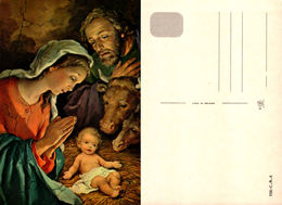 Enfant Jésus (2 Cartes) Fratelli Bonella 106-C.N.4 Et 137-C.7 - Jezus