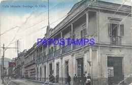 101560 CHILE SANTIAGO STREET CALLE MONEDA DAMAGED POSTAL POSTCARD - Chili