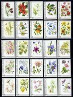 Nederland Postfris/MNH, Janneke Brinkman: Bloemen, Flowers, Fleures. Complete Serie - Planten