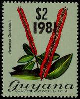 Guyana 1981 (8 Jun) $2 Norantea Guianansis Unmounted Mint. - Guyana (1966-...)