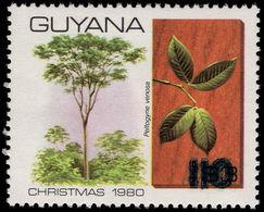 Guyana 1981 (14 Nov) 110c On $3 Peltogyne Venosa Unmounted Mint. - Guyana (1966-...)