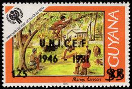 Guyana 1981 UNICEF Unmounted Mint. - Guyana (1966-...)