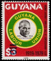 Guyana 1981 (14 Nov) 110c On $3 H N Critchlow Unmounted Mint. - Guyana (1966-...)