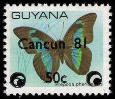 Guyana 1981 Cancun Unmounted Mint. - Guyana (1966-...)
