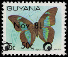 Guyana 1981 (14 Nov) Nov 81 50c Unmounted Mint. - Guyana (1966-...)