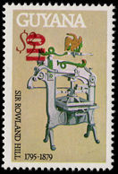 Guyana 1981 (14 Nov) 110c On $3 Printing Press Unmounted Mint. - Guyana (1966-...)