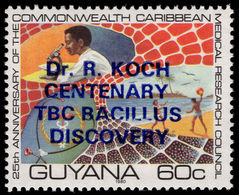 Guyana 1982 Dr Koch Unmounted Mint. - Guyana (1966-...)