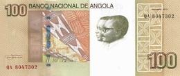 ANGOLA 100 KWANZAS 2012 (2013) P-153a UNC [AO544a] - Angola