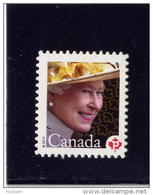 CANADA. 2013, # 2617i, MNH, QE11, 60th OF THE ROYAL STYLE & TITLES ACT, Die Cut To Shape From Quartely Pack - Carnets