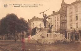 ANTWERPEN - Monument Van Baron Dhanis - Antwerpen