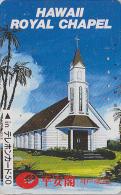 Télécarte Japon / 330-14216 - HAWAII - Eglise - Church ROYAL CHAPEL Japan Phonecard - USA Rel. - 181 - Paysages