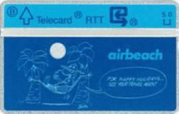 Belgium - P-138 Airbeach Max L&G Private Card, 1000ex, Mint - Belgique