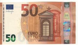 "50 EURO  ""EB""    DRAGHI   E 007 A1   EB2520250353    /  FDS - UNC - EURO"