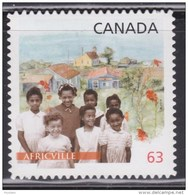 CANADA, 2014, #2702i, BLACK HISTORY: AFRICVILLE NOVA SCOTIA,  CHILDREN,  BUILDINGS, MNH, DIE CUT - Booklets