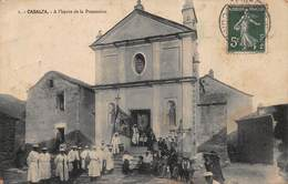 CPA CASALTA - A L'heure De La Procession - Sonstige Gemeinden