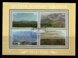 South Africa - 1978 Jan Ernest Abraham Volschenk MS CTO - Südafrika (1961-...)