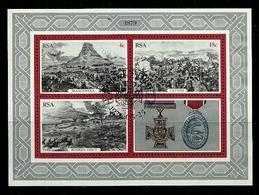 South Africa - 1979 Centenary Of The Zulu War MS CTO - Südafrika (1961-...)